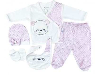5dielna kojenecká súprava macko