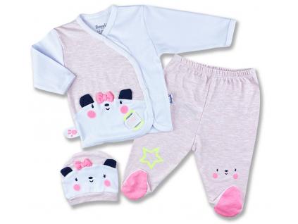 3 diel kojenecké oblečenie
