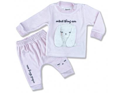 oblečenie pre bábätká zajko plyš