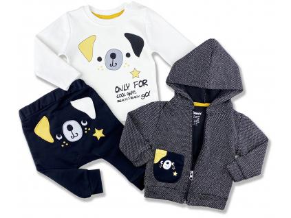 oblečenie pre bábätká psík1