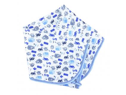 deka macík modrý