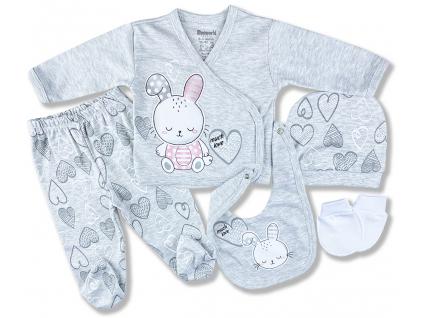 5dielny dojčenský set zajko