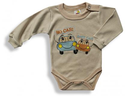 Detské body - BIG CAR, hnedé