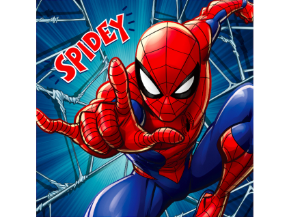 vankúš spiderman