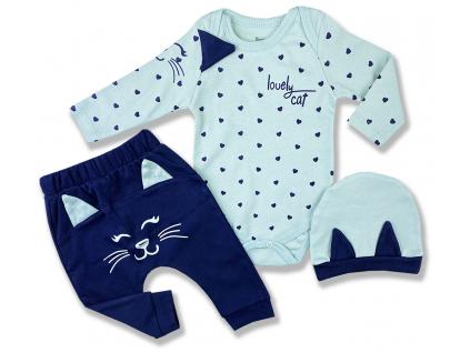 3dielny kojenecký set cat1
