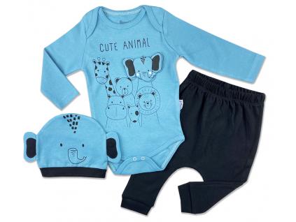 3dielny kojenecký set animal3