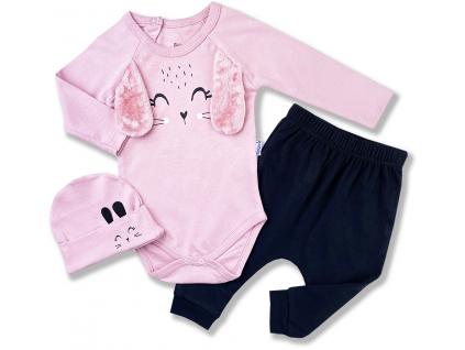 3dielny kojenecký set zajko1