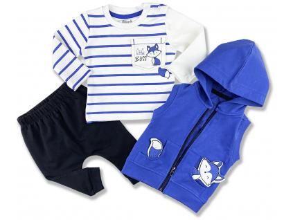 3dielny set s vestičkou1 oblečenie pre bábätká