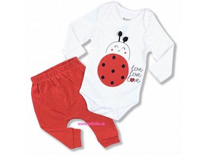 2dielny kojenecký set - Lienka