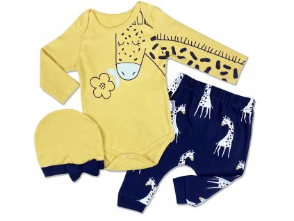 kojenecké oblečenie žiraf1