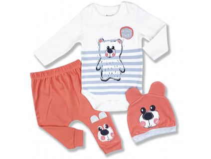 kojenecké oblečenie teddy1
