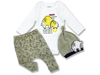 kojenecké oblečenie safari1