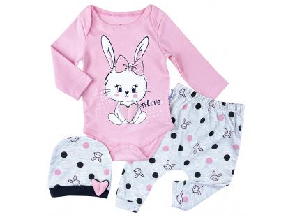 3dielny kojenecký set love3,