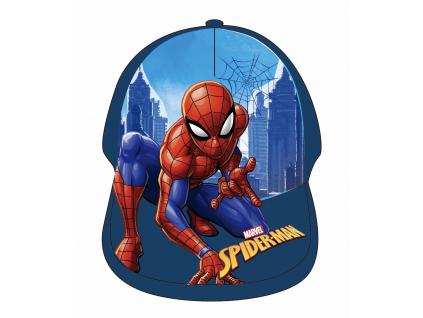 Detská šiltovka - Spiderman, tm.modrá