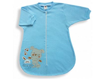Spací vak pre bábätká – BEAR, modrý