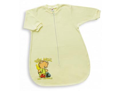 Spací vak pre babätká - ANGEL - žltý