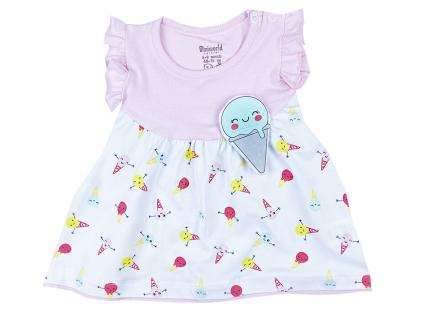šaty pre bábätká zmrzlina