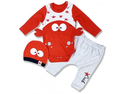 oblečenie pre bábätká rak