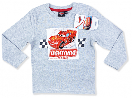 oblečenie pre deti cars s flitrami