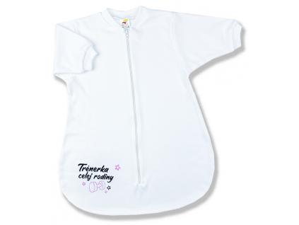 spací vak pre bábätká trénerka