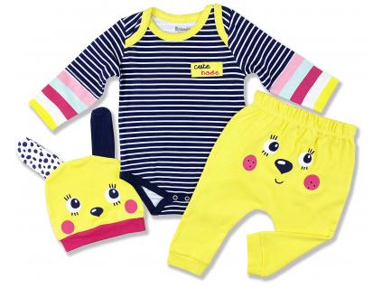 3dielny kojenecký set cute