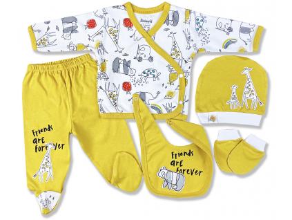 5dielna kojenecká súprava – Darčekové balenie, z