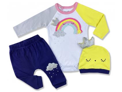 3dielny kojenecký set 15921,