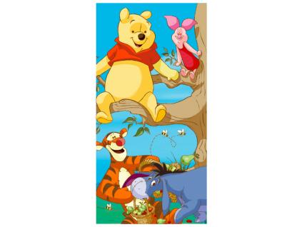 Detská osuška - Winnie the Pooh, Friends (70x140)NEW.