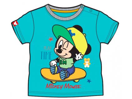 Tričko pre bábätká, krátky rukáv - Mickey Mouse,
