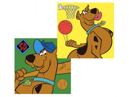 Detský ručník - Scooby Doo,, 2ks (30x30)
