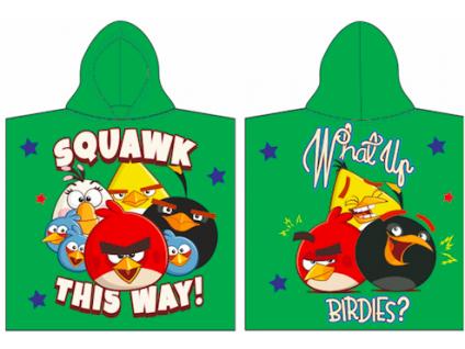 Detské pončo - Angry Birds
