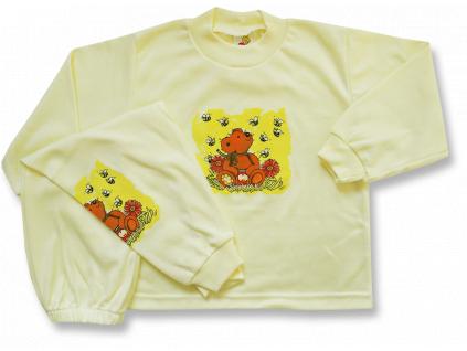 Detské pyžamo - Macko, žlté