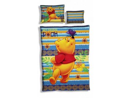 Detské obliečky DISNEY – MACKO PU, 3diely (140 x 200)
