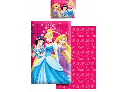 Obliečky do detskej postieľky Disney – PRINCESS
