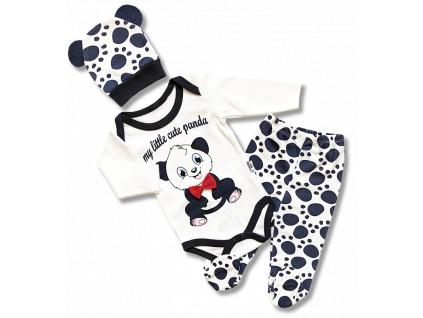panda kojenecky set