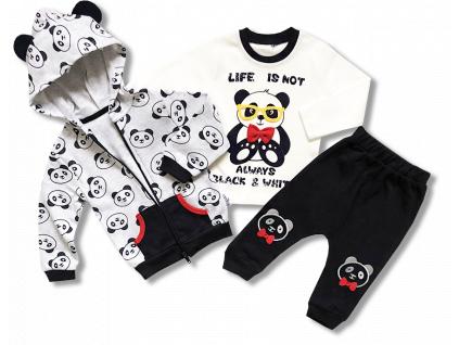 3dielny kojenecky set panda