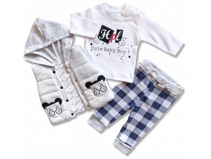 oblečenie pre bábätká prechodný set1