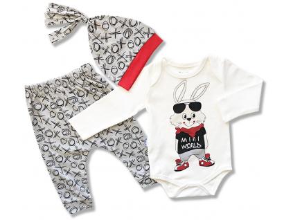 kojenecky set oblečenie pre bábätká zajko