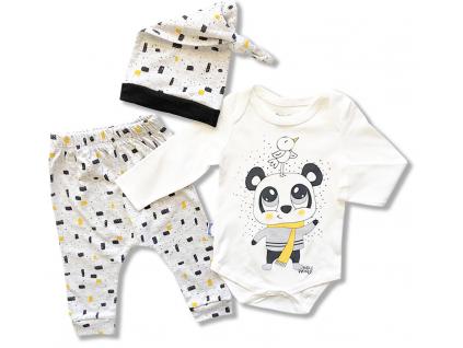 kojenecky set oblečenie pre bábätká panda