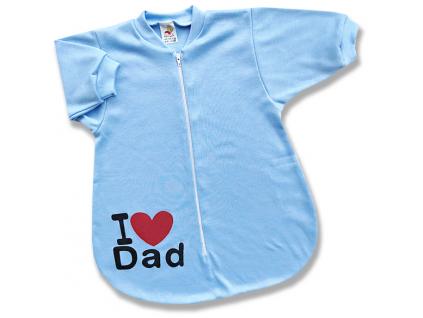 spací vak pre bábätká dad