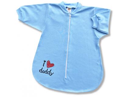 spací vak pre bábätká dady.