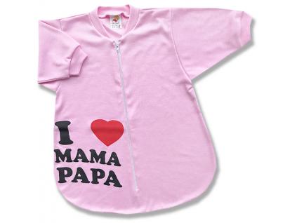 spací vak pre bábätká mama1