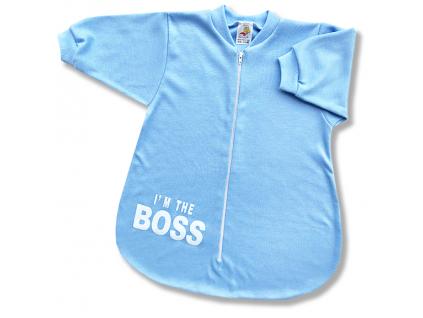 spací vak pre bábätká boss