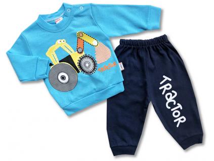 kojenecký set oblečenie tractor