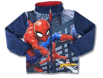 detské oblečenie spiderman mikina