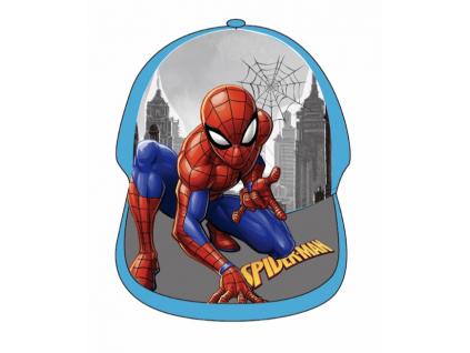 Detská šiltovka - Spiderman, bl. modrá