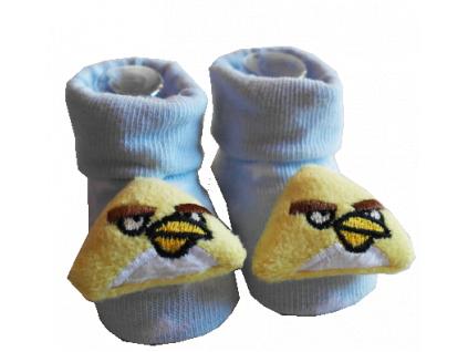 Ponožky pre bábätká - ANGRY BIRDS