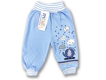 teplákové nohavice pre bábätká million