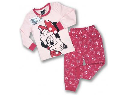 detské pyžamo minnie mouse2