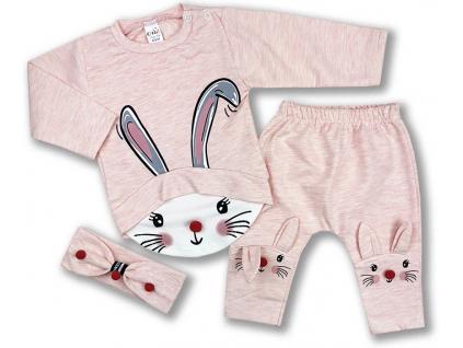 oblečenie pre bábätká set zajačik2